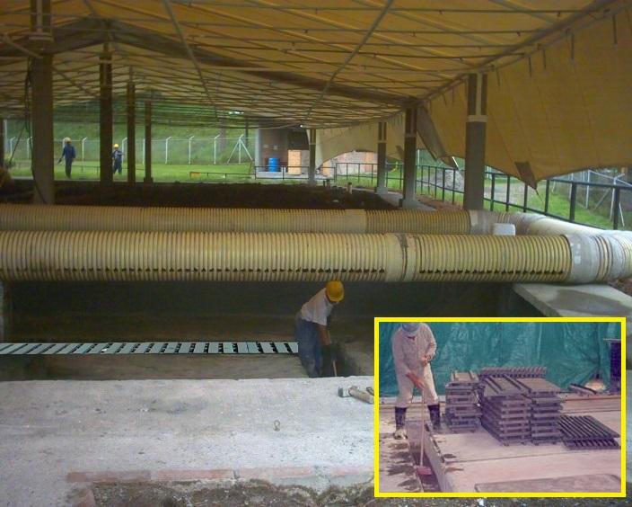 2 5 rejillas industriales y peatonales pl sticas for Piscinas plasticas colombia